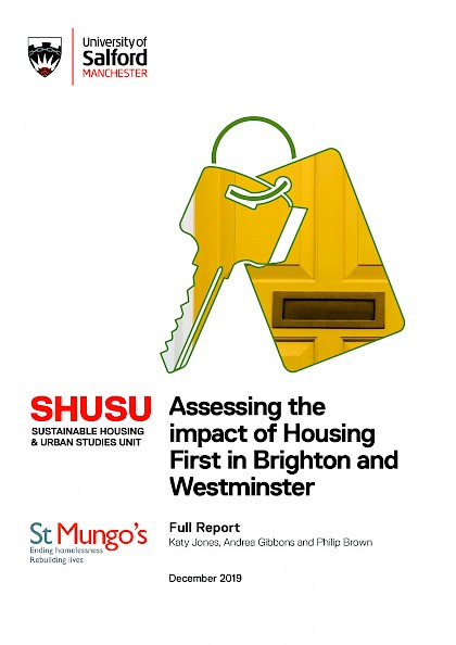 Assessing the impact of Housing First in Brighton and Westminster