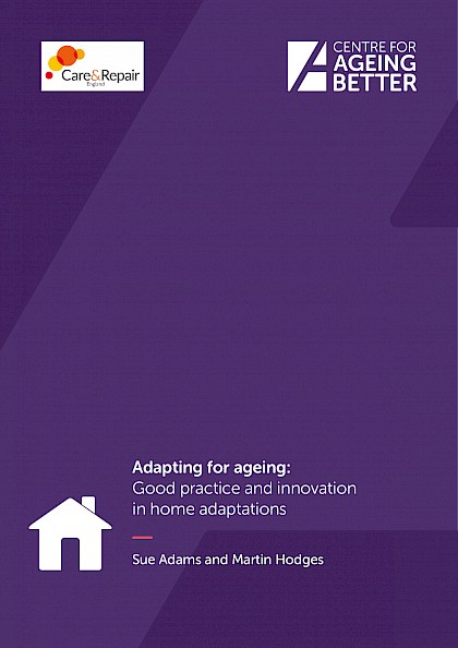 Innovative approaches to home adaptations help people live in their homes for longer