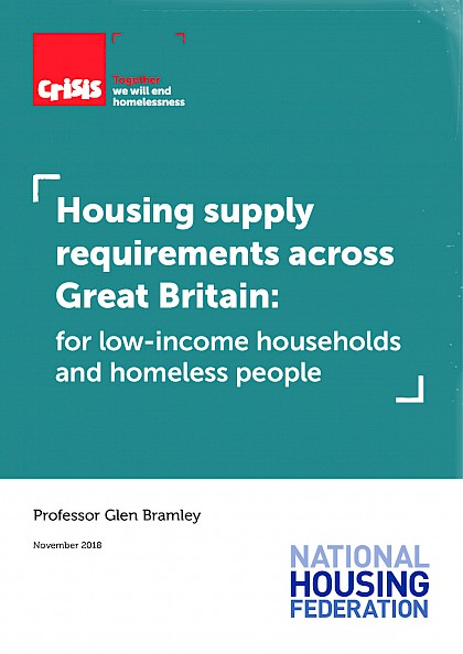 Housing supply requirements across Great Britain for low-income households and homeless people