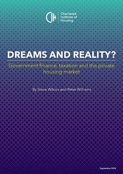 Dreams and Reality, Government finance, taxation and the private housing marker