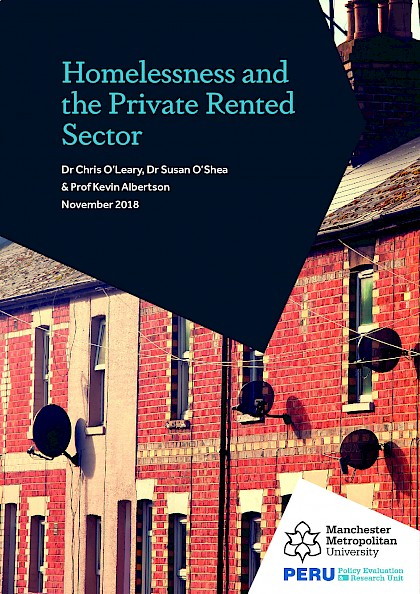 Homelessness and the Private Rented Sector