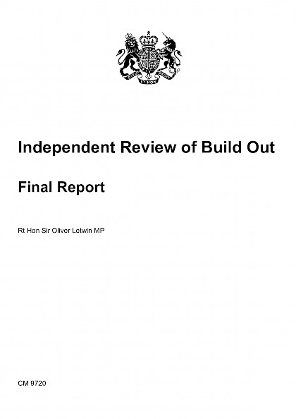 Independent Review of Build Out.  Final Reports