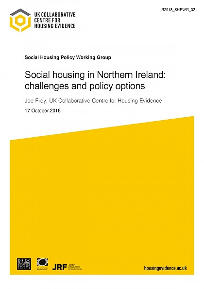Social Housing in Northern Ireland: Challenges and policy options
