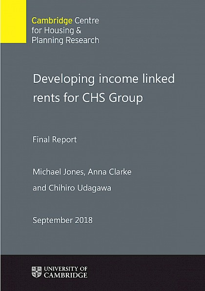 Developing income-linked rents