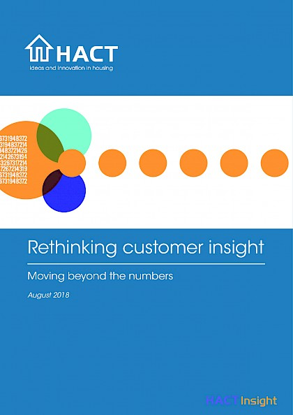 Rethinking customer insight, moving beyond the numbers