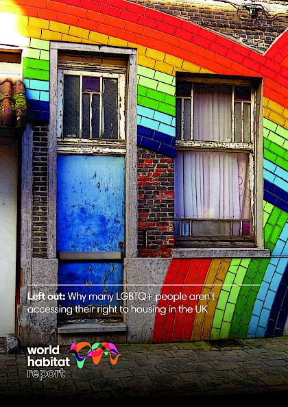 Left out: Why many LGBTQ+ people aren't accessing their right to housing in the UK