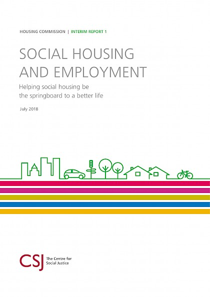 Social Housing and Employment, Helping social housing be the springboard to a better life