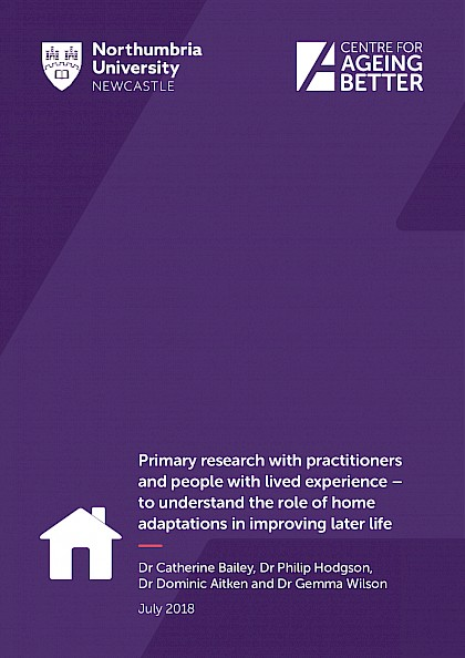 The role of home adaptations in improving later life