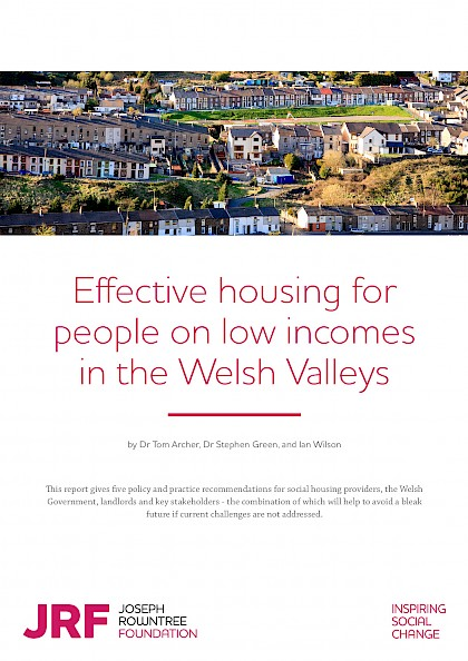 Effective housing for people on low incomes in the Welsh Valleys