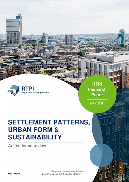 Settlement Patterns, urban form & sustainability