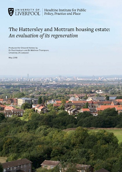The Hattersley and Mottram housing estate: An evaluation of its regeneration
