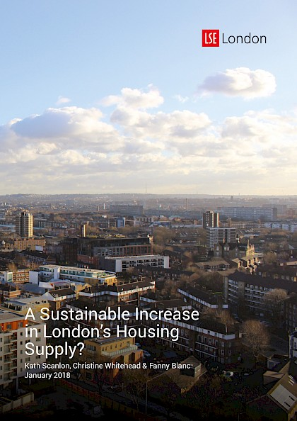 A Sustainable Increase in London's Housing Supply?