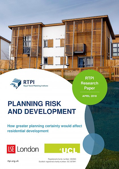 How greater planning certainty would affect residential development
