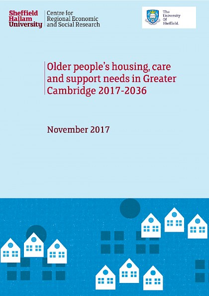 Older people's housing, care and support needs in Great Cambridge 2017-2036