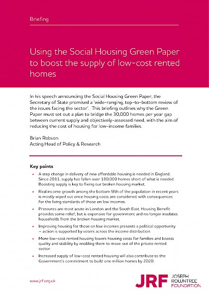 Social Housing Green Paper - Briefing note