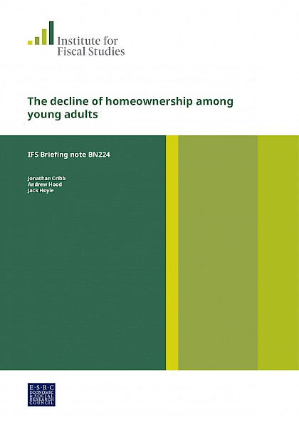 The decline of homeownership among young adults