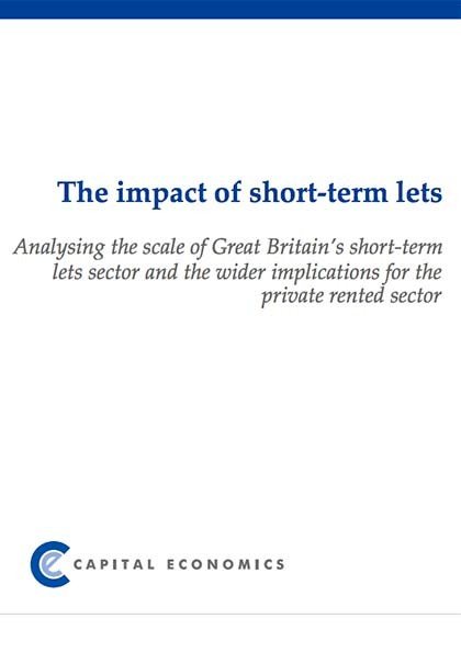 The impact of short-term lets