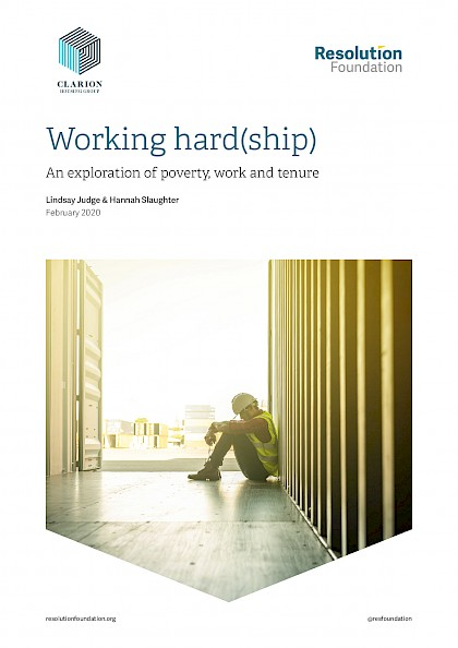 Working hard(ship). An exploration of poverty, work and tenure