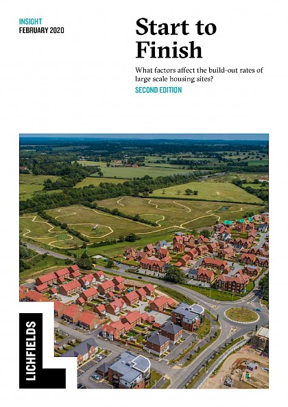 Start to Finish. What factors affect the build-out rates of large scale housing sites?