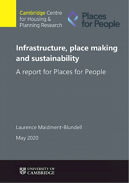 Infrastructure, place making and sustainability
