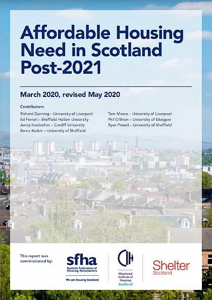Affordable Housing Need in Scotland Post-2021