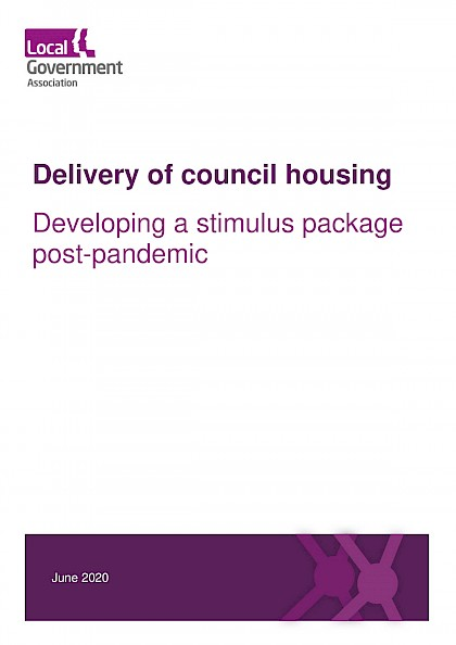 Delivery of council housing: a stimulus package post-pandemic