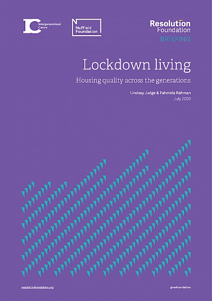 Lockdown living, Housing quality across the generations