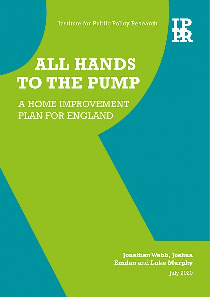 All hands to the pump: A home improvement plan for England