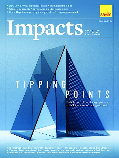 Tipping Points, how climate, politics and demographics and technology are transforming real estate