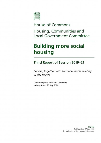 Building more social housing