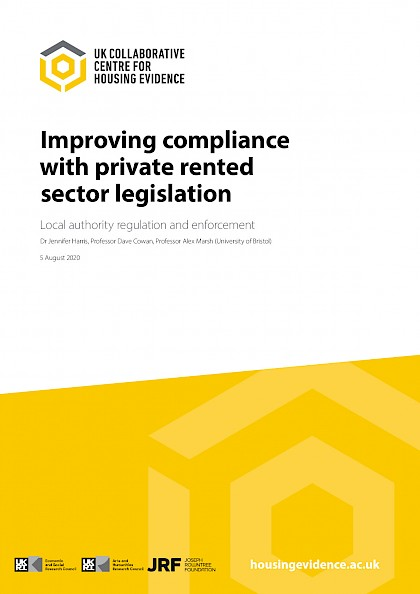 Improving Compliance in the Private Rented Sectors