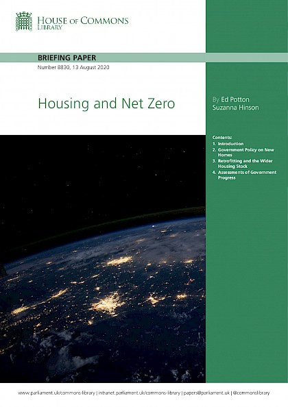 Housing and net zero