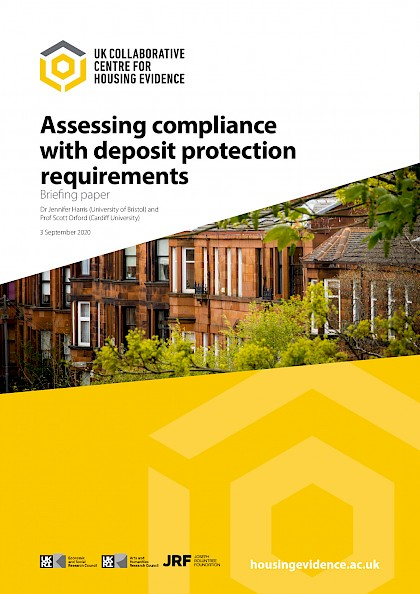 Assessing compliance with deposit protection requirements