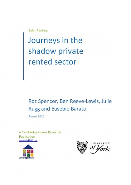 Journeys in the Shadow Private Rented Sector