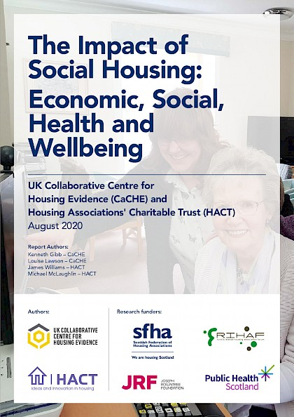 The impact of social housing: economic, social, health and wellbeing.