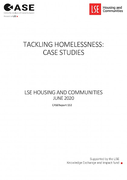 Tackling Homelessness: Case Studies