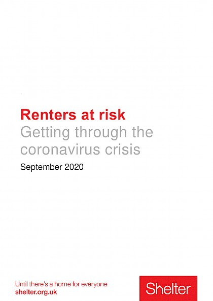 Renters at Risk, getting through the coronavirus crisis