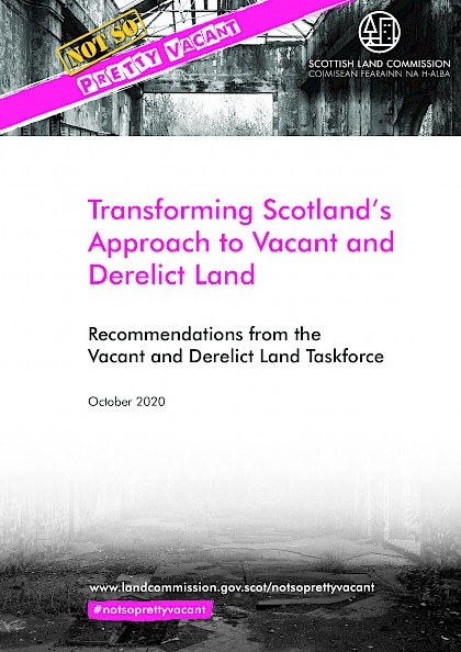 Transforming Scotland's Approach to Vacant and Derelict Land