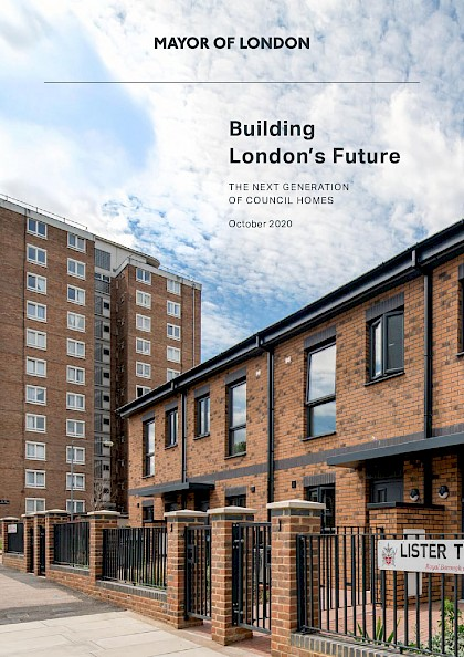 Building London's future: The next generation of council homes