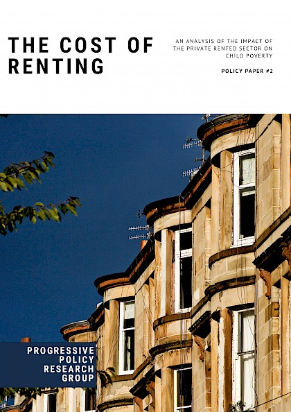 The Cost of Renting. An analysis of the impact of the private rented sector on child poverty.