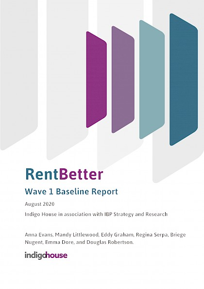 Rent Better Research - evaluation of Scotland's private rented sector