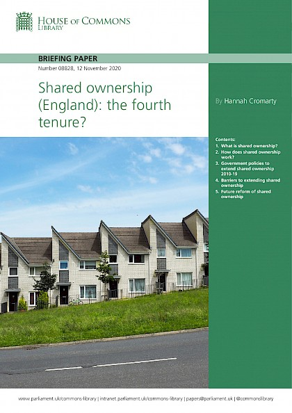 Shared ownership (England): the fourth tenure?