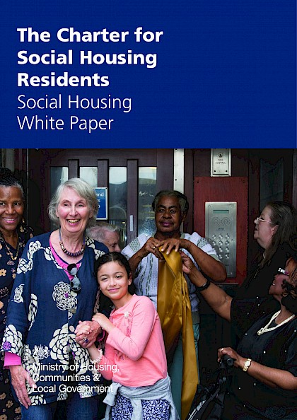The charter for social housing residents: social housing white paper