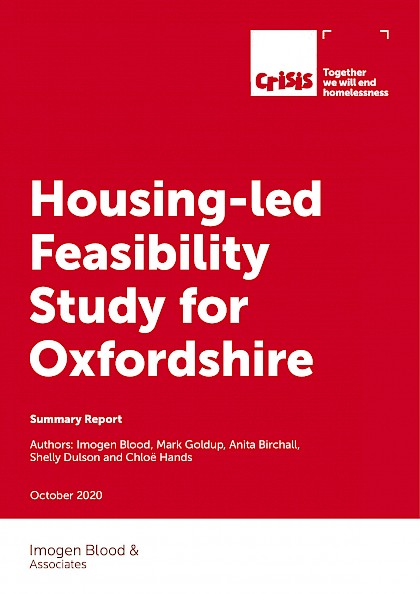 Housing-led Feasibility Study for Oxfordshire