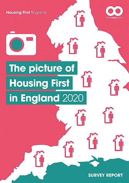 Picture of Housing First in England 2020