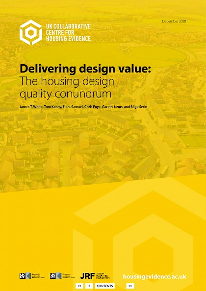 Delivering design value: the housing design quality conundrum