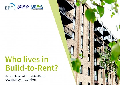 Who lives in Build to Rent?